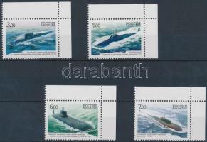 2006 100 éves az orosz tengeralattjáró Flotta (II) ívsarki sor Mi 1311-1314