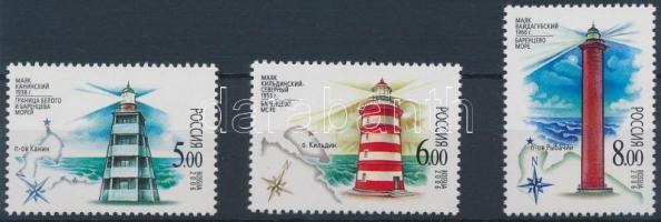 2006 Világítótornyok sor Mi 1368-1370