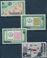 1974 100 éves a nigériai bélyeg sor Mi 300-303