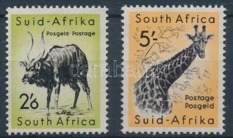 1954 Állatok 2 érték Mi 250-251