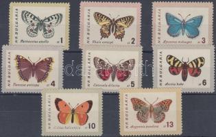 1962 Lepkék sor Mi 1339-1346