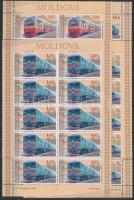 2005 Mozdony kisív sor Mi 505-508