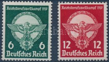 1939 Birodalmi szakmai verseny sor Mi 689-690