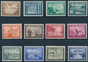 1939 Posta Bajtársi Szövetség (I) sor Mi 702-713