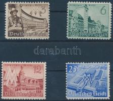 1940 Lipcsei tavaszi vásár sor Mi 739-742