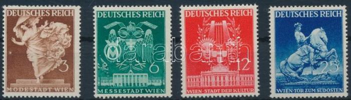 1941 Bécsi tavaszi vásár sor Mi 768-771