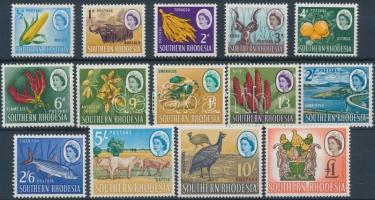 Dél-Rhodesia 1964 Forgalmi sor Mi 94-107