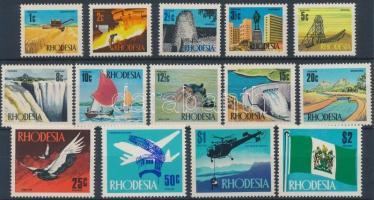 Rhodesia 1970 Forgalmi, Ipari fejlődés sor Mi 88-101