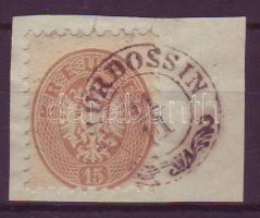 1864 15kr (T)HURDOSSIN (Gudlin 250 pont )