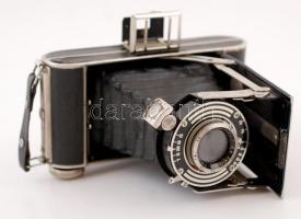 Régi harmonikás Certix Certo Anastigmat Certar 1: 4,5 F=10,5 cm fényképezőgép, jó állapotban / Certix Certo Anastigmat Certar 1: 4,5 F=10,5 cm photo camera, good condition
