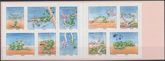 1999 Rajzfilm figura: Yoka-kígyó bélyegfüzet Mi 972-981