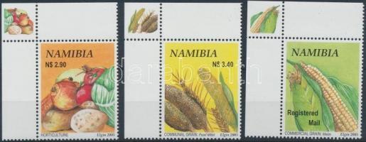 2005 Haszon növények ívsarki sor Mi 1166-1168
