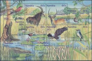1998 Állatok és növények blokk Mi 44