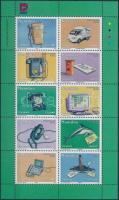 2002 10 éves a Telecom és Nampost kisív I. Mi 1082-1091