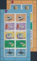 2002 10 éves a Telecom és Nampost kisív sor II. Mi 1082-1091