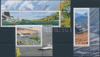 2006 Újratelítődő folyók ívsarki sor Mi 1206-1208