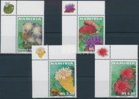 2001 Tengeri rózsák ívsarki sor Mi 1033-1036