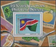 2003 25 éves a Windhuk-i Bélyeggyűjtő egyesület blokk Mi 56