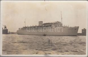 """K.d.F. Elektro-Schiff """"Robert Ley"""", K.d.F. elektromos hajó, """"Robert Ley"""""""