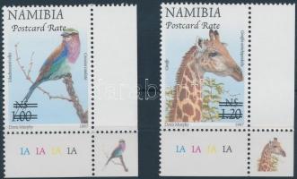 2006 Állatok felülnyomott ívsarki sor Mi 1204-1205