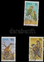 Birds 3 stamps Madár sor 3 értéke