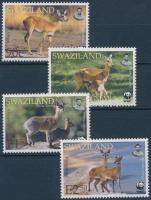 WWF antilop sor + 4 FDC, WWF antelope set + 4 FDC