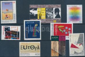 Europe 1 set + 7 diff stamps, Európa 1 sor + 7 klf önálló érték