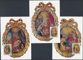 Rosary Rings set 3 CM, Rózsafüzérmedálok sor 3 CM