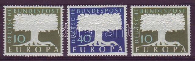 1957 Europa CEPT Mi 268-269+294