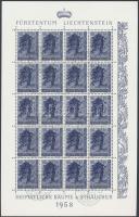 1958 Fák kisívsor elsőnapi bélyegzéssel Mi 371-373