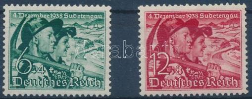 1938 Népszavazás sor Mi 684-685