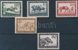 1946 Lóverseny, Osztrák nagydíj sor Mi 785-789