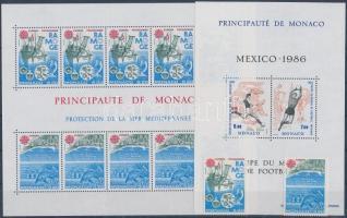 1986 Teljes évfolyam portóbélyegekkel (3 stecklap)