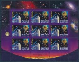 2009 Europa CEPT csillagászat kisív Mi 1547