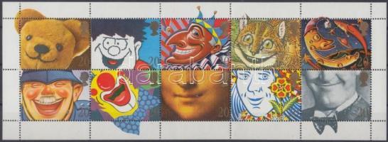 1990 Üdvözlőbélyegek kisív Mi 1251-1260