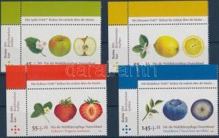 2010 Gyümölcsök ívsarki sor Mi 2769-2772