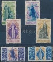 1948 Sziénai Szent Katalin sor Mi 740-745