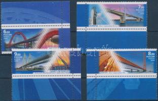 2008 Hidak ívsarki sor Mi 1512-1515