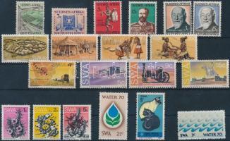 1963-1975 20 db bélyeg, közte teljes sorok
