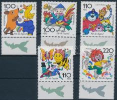 1998 Rajzfilmfigurák ívszéli sor Mi 1990-1994