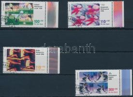 1998 Sporthilfe ívszéli sor Mi 1968-1971