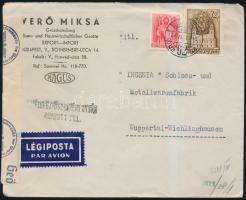 1941 Cenzúrás légi levél Németországba