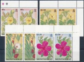 1994 Virágok sor ívsarki párokban Mi 888-891