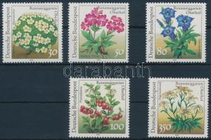 1991 Növények sor Mi 1505-1509