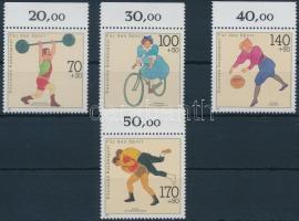 1991 Sport ívszéli sor Mi 1499-1502