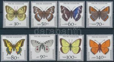 Youth: endangered butterflies set, Ifjúság: veszélyeztetett lepkék sor