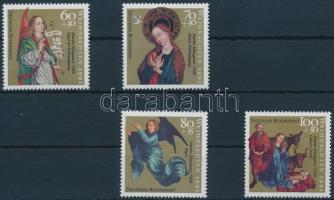 1991 Karácsony sor Mi 1578-1581