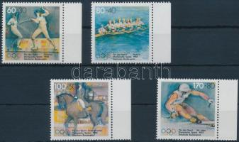 1992 Olimpia ívszéli sor Mi 1592-1595