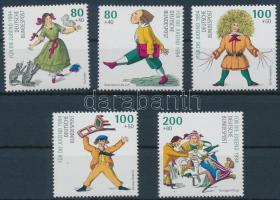 1994 Ifjúságért, 100 éve halt meg Heinrich Hoffmann sor Mi 1726-1730