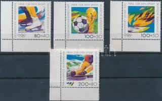 1994 Téli olimpia ívsarki sor Mi 1717-1720